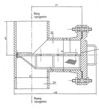 Прочее Фильтр сетчатый ФС-4 ФС-IV (57857)