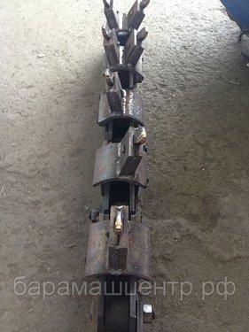 Запчасти и комплектующие Цепь втулочно-роликовая с баровыми резцами В210А-165А-7301. 0 (93320)